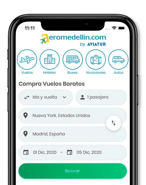 App Aeromedellin